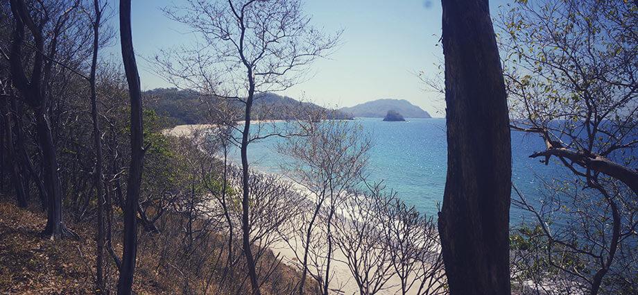playa nombre de jesus beach in costa rica